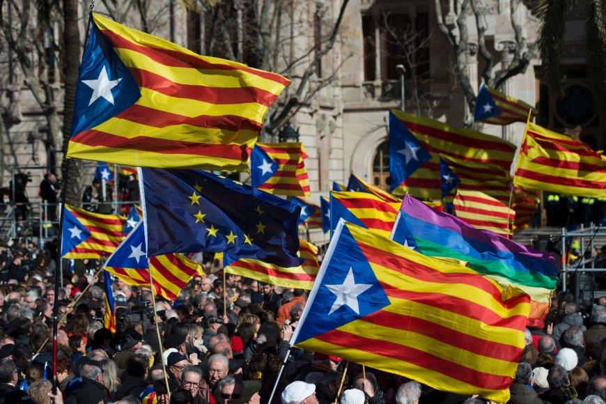 Demonstracija už Katalonijos nepriklausomybę