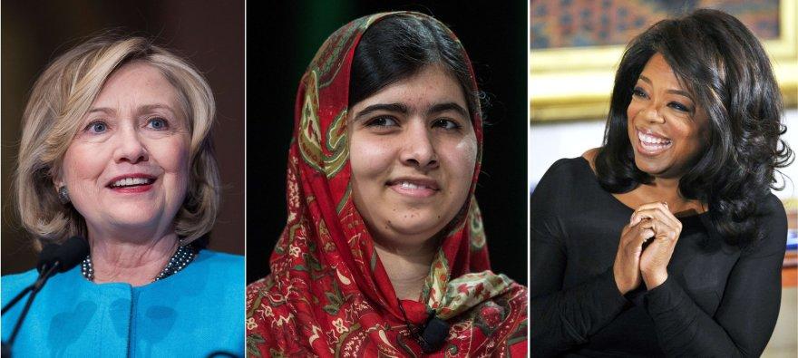 Hillary Clinton išlieka didžiausią amerikiečių susižavėjimą keliančia moterimi, po kurios antrą ir trečią vietas užima televizijos laidų vedėja Oprah Winfrey ir Nobelio taikos premijos laureatė pakistanietė Malala Yousafzai.