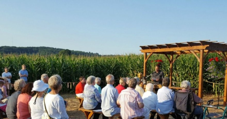 Vienuolės ant planuojamo dujotiekio trasos įkūrė koplyčią