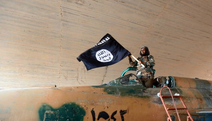 """""""Scanpix""""/AP nuotr./""""Islamo valstybės"""" kovotojas"""