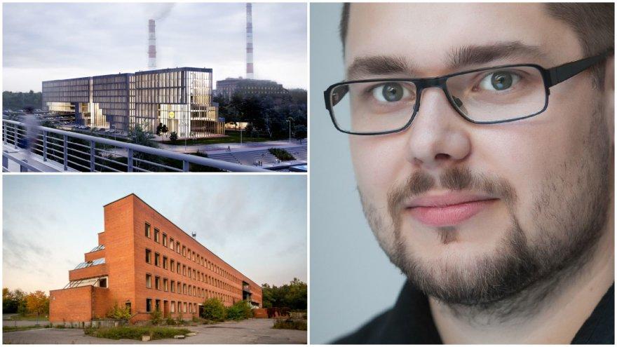 """Architektas Matas Šiupšinskas pripažįsta, jog paskelbus """"Lidl Lietuvos"""" rengto architektūros konkurso rezultatus, apėmė svetimos gėdos jausmas"""