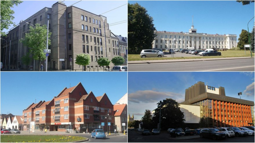 Saugotina modernizmo ir postmodernizmo architektūra
