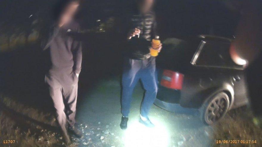 Klaipėdoje į areštinę uždaryti jaunuoliai, turėję narkotikų.