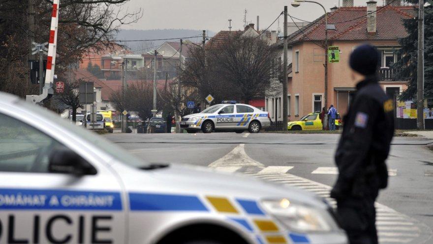Išpuolis Čekijoje, Uhersky Brodo mieste.