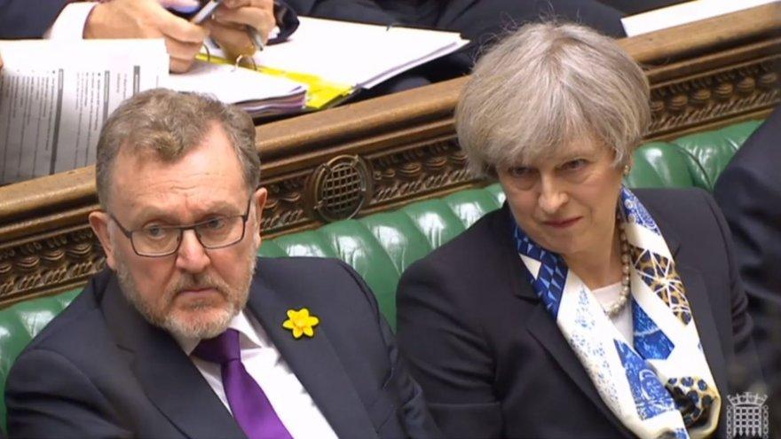 Davidas Mundellas ir Theresa May