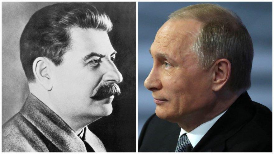 Josifas Stalinas ir Vladimiras Putinas