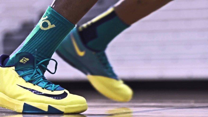 VIDEO kadras: Kevinas Durantas ir Nike