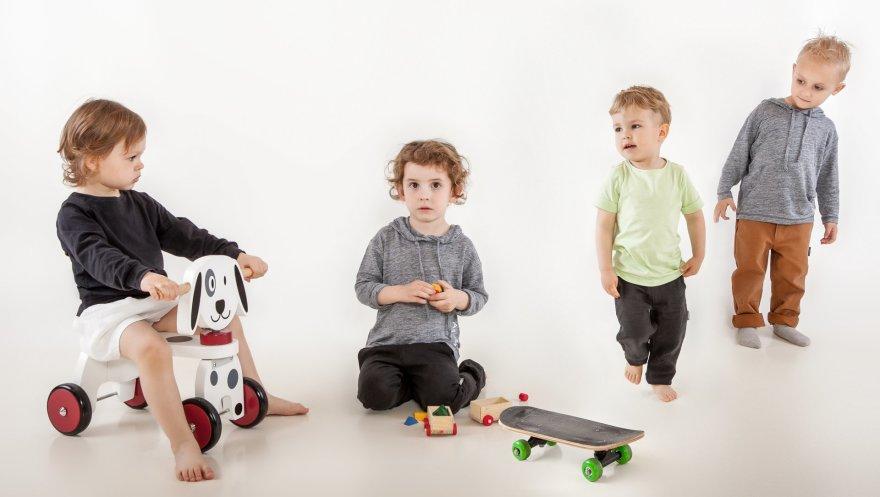 """""""Rabbit Island"""" drabužių kolekcija vaikams – iš naujos kartos organinių audinių"""