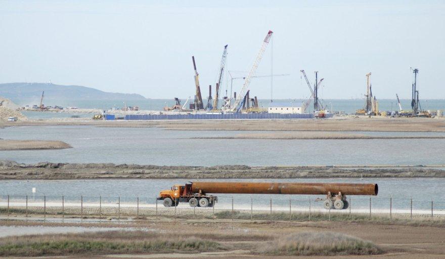 Rusija statosi tiltą į Krymą