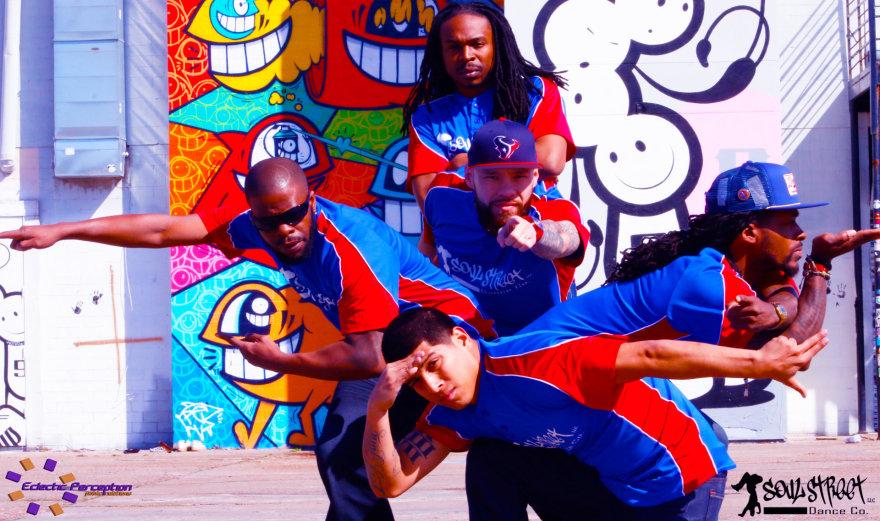"Amerikiečių ""Soul street dance"" trupė"
