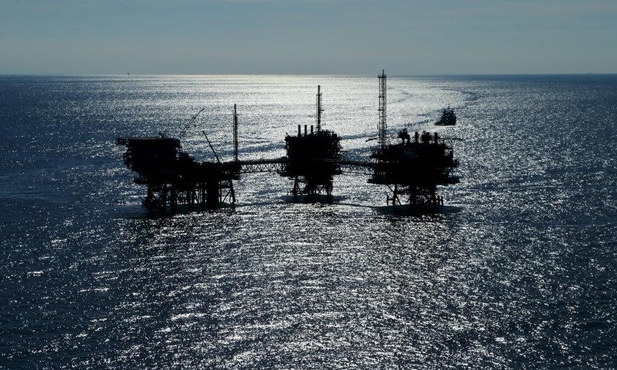 Naftos gavybos platforma Adrijos jūroje