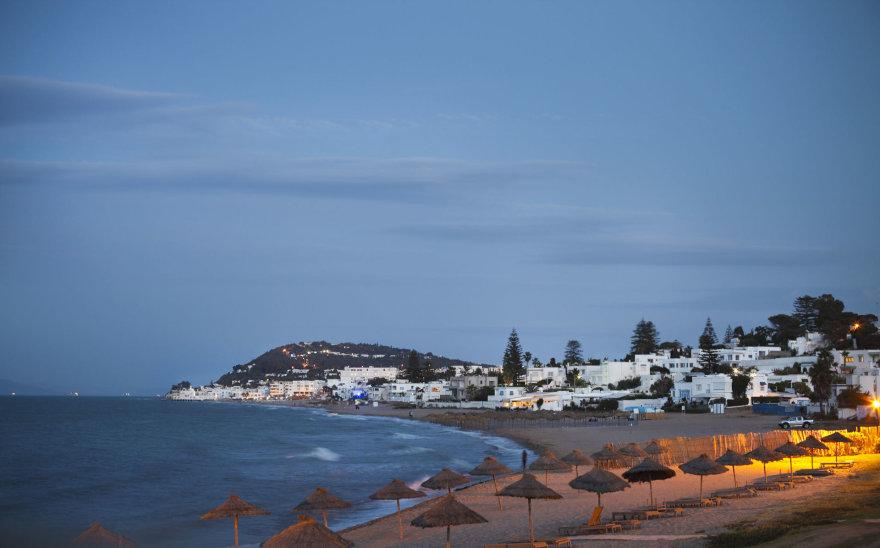 Paplūdimys Tunise