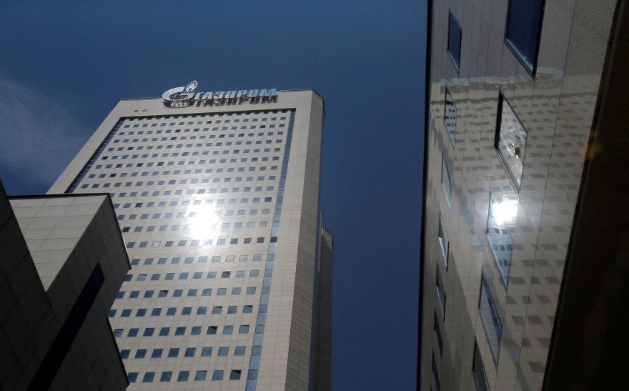 """Reuters""/""Scanpix"" nuotr./""Gazprom"" pastatas Maskvoje"