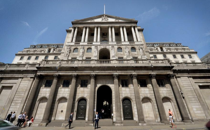 Anglijos banko pastatas