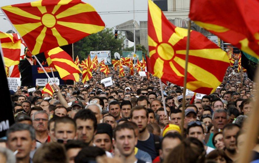 Protestai Makedonijoje