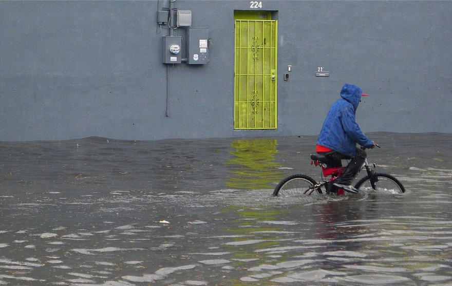 Potvynis Haityje.