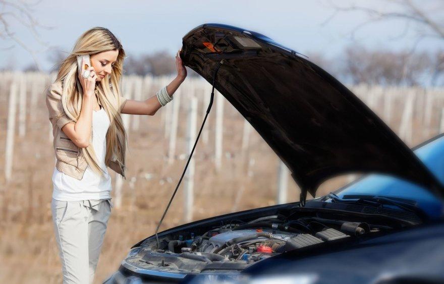 Mergina kviečia techninę pagalbą