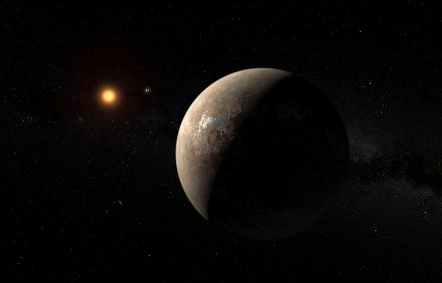 Planeta Proksima b, besisukanti apie žvaigždę Kentauro Proksimą
