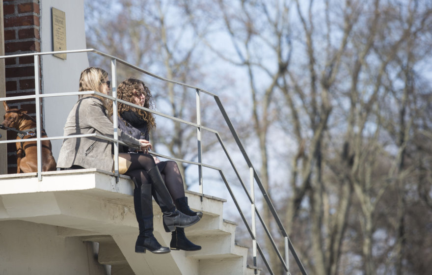 Saulėta kovo 24-oji diena Vilniuje