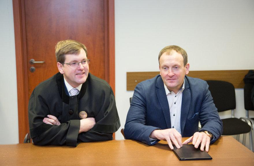 Juzefas Kozubovskis (dešinėje)