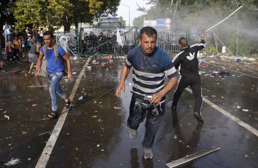 Migrantų keliami neramumai Vengrijoje