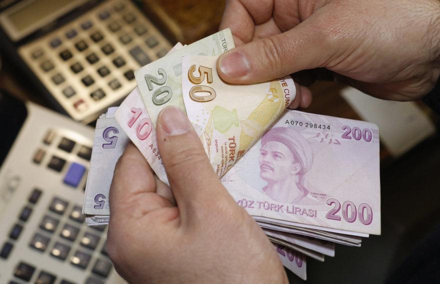 Turkijos liros banknotai