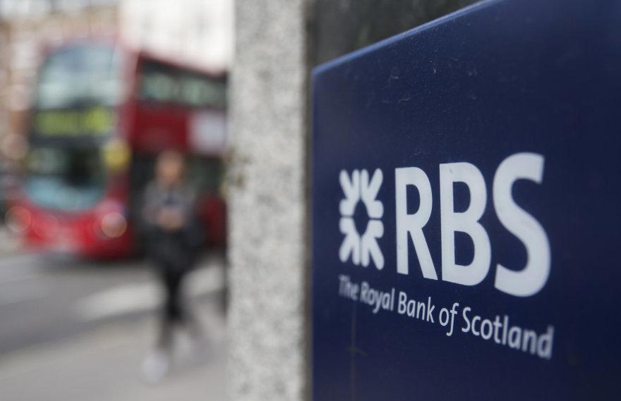 RBS banko skyrius Londone
