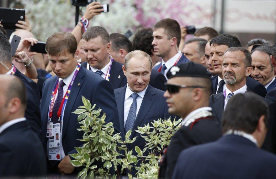 """Putino vizitas Milano """"EXPO 2015"""" parodoje"""