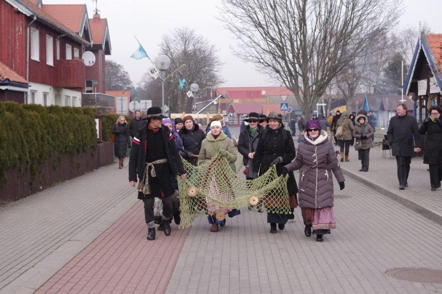 """Pirmąjį vasario savaitgalį Neringoje vyks """"Stintapūkio"""" šventė."""