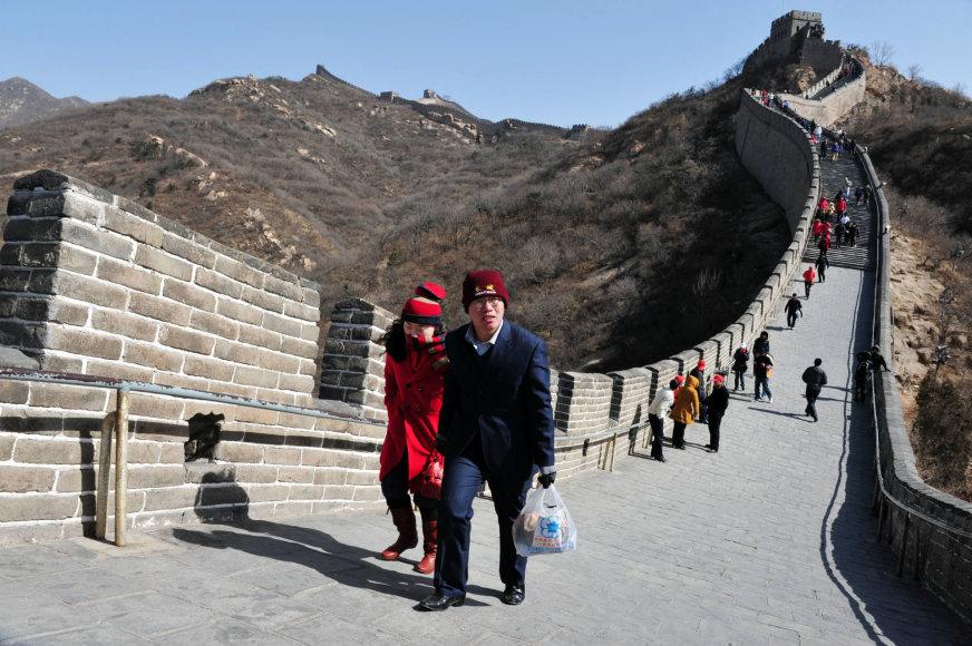 123rf.com /Dauguma kinų turistų bent kartą per gyvenimą aplanko Didžiąją kinų sieną