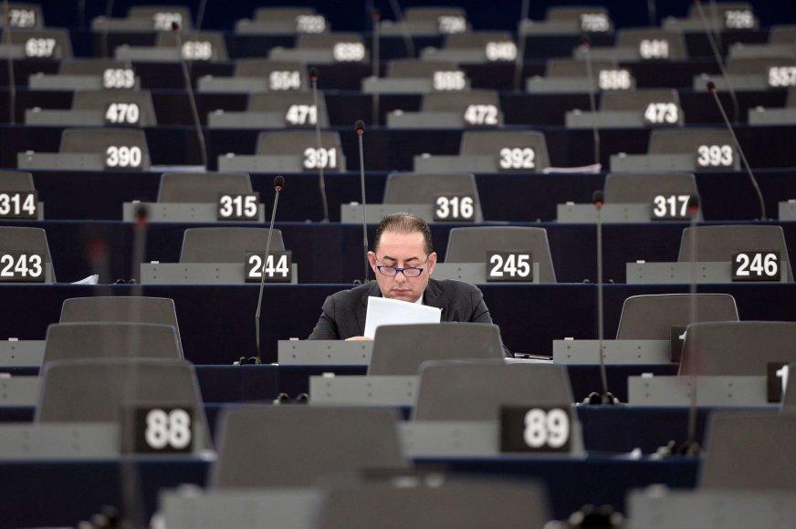 Gianni Pittella Europos Parlamento posėdžių salėje