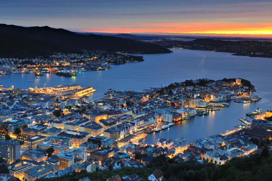 Norvegija iš oro
