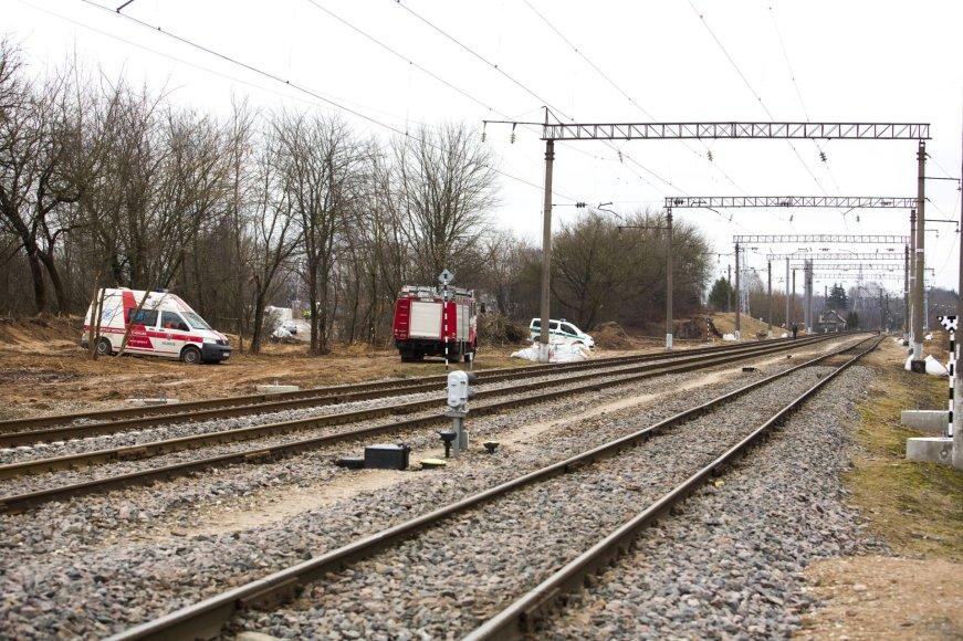 Naujoje Vilnioje netoli geležinkelio pervažos rastas sprogmuo