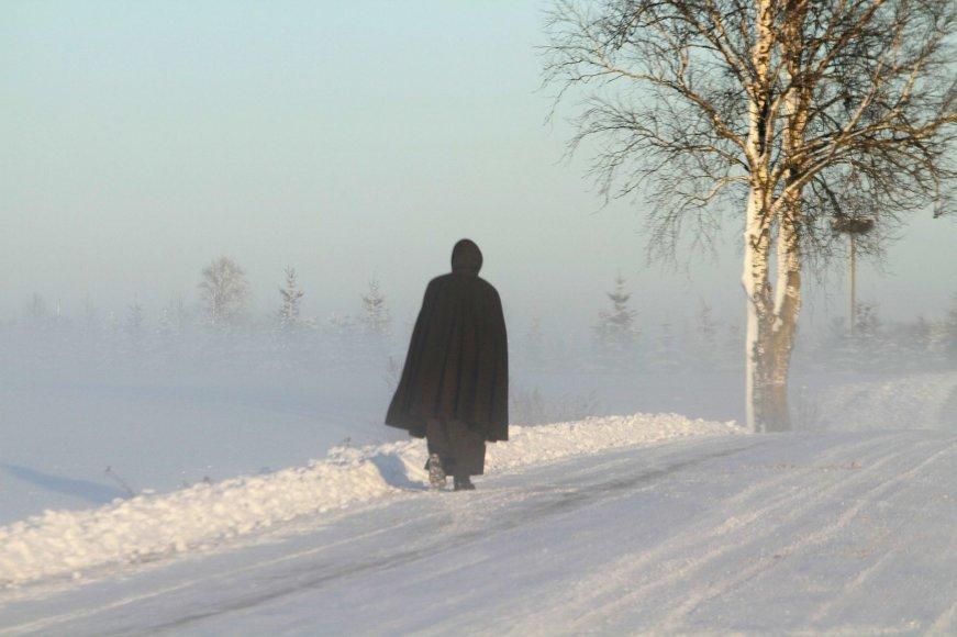 Žiemos grožis atperka kelininkų apsileidimus