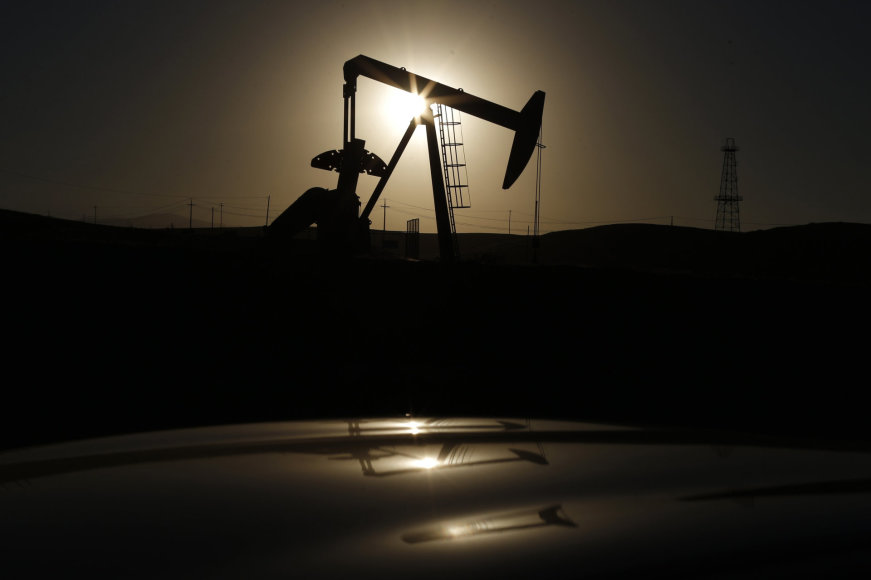 Naftos gavybos vieta Kalifornijoje