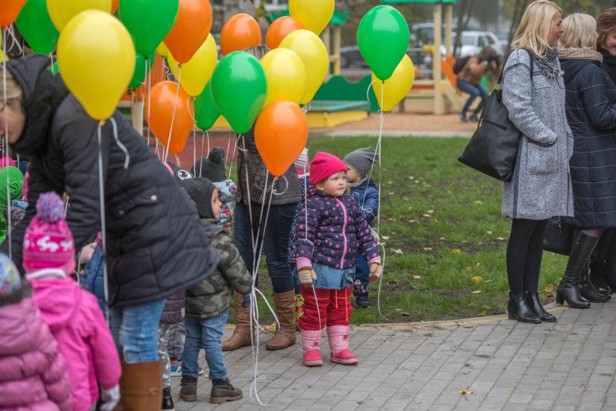 Vaikų darželio atidarymas