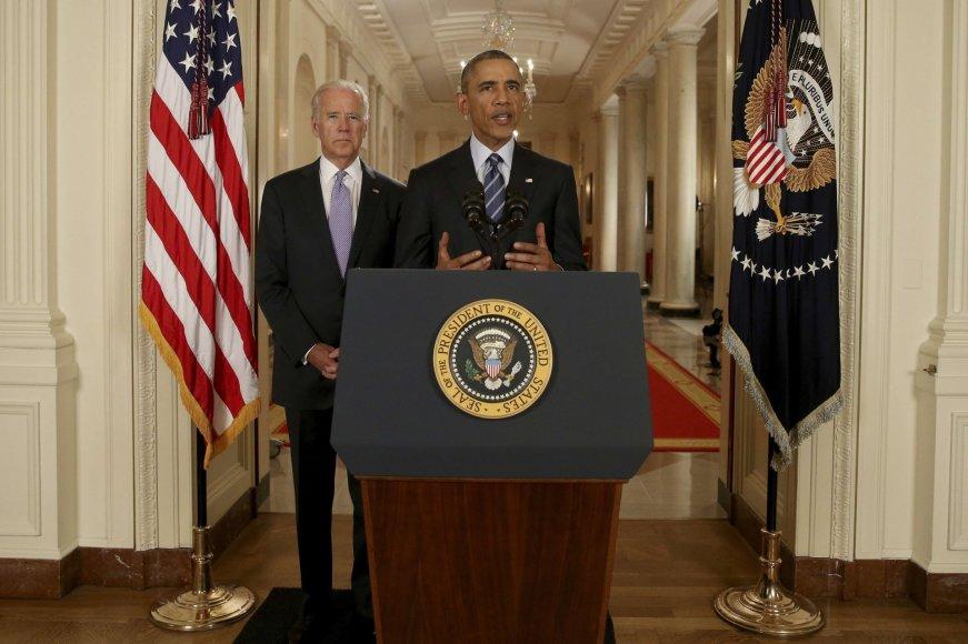 Barackas Obama kreipėsi į amerikiečius