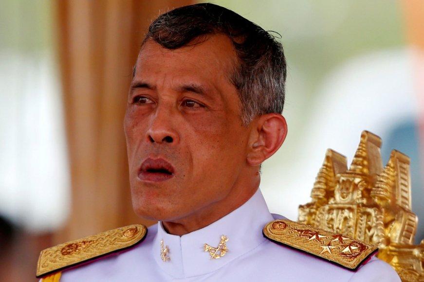 Tailando princas regentas Maha Vajiralongkornas