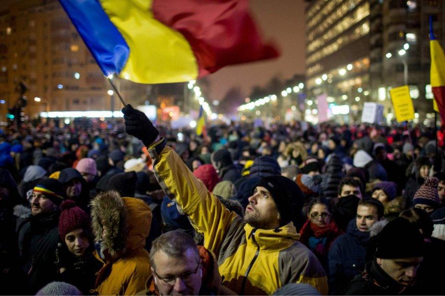 Protestas Rumunijoje