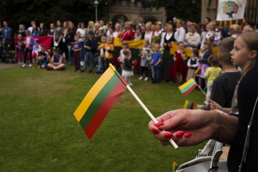 Lietuvių emigrantų šventė Jungtinėje Karalystėje