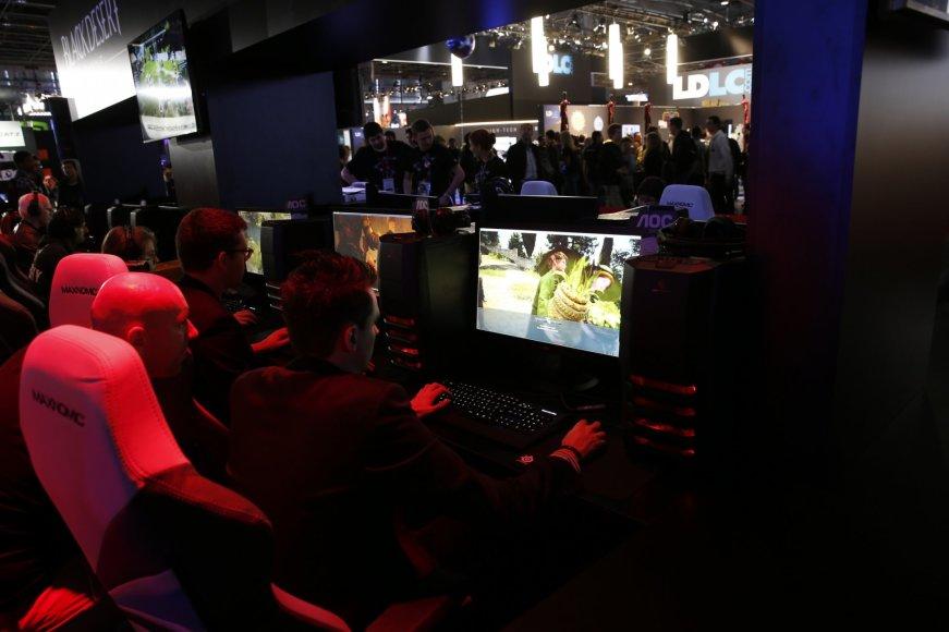 Kompiuterinių žaidimų savaitė Paryžiuje