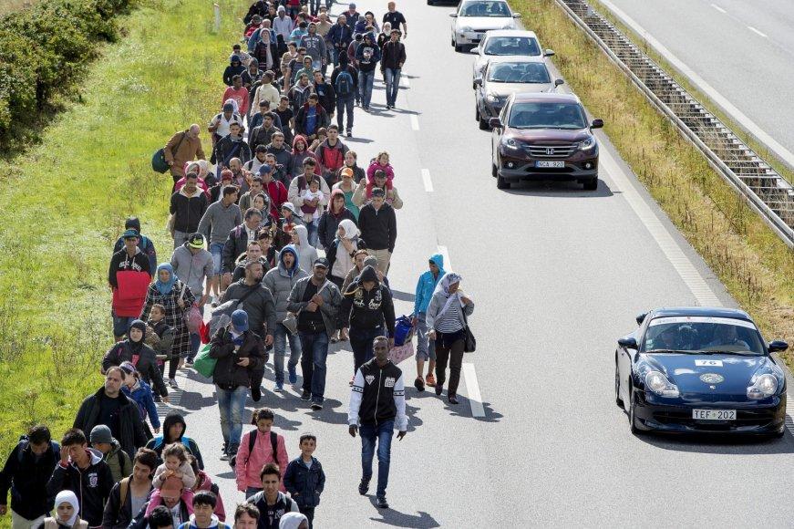 Migrantai Danijoje