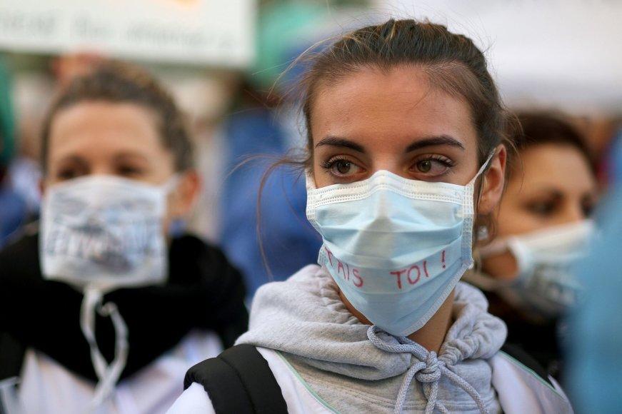 Prancūziją krečia gripo epidemija