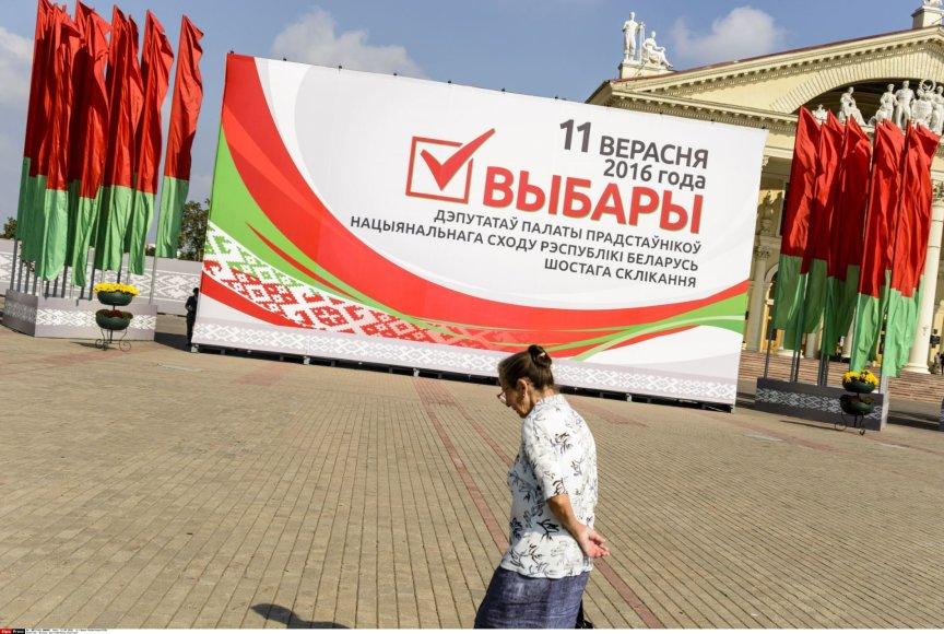 Baltarusijos rinkimai