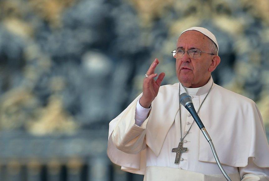 Popiežius Pranciškus.