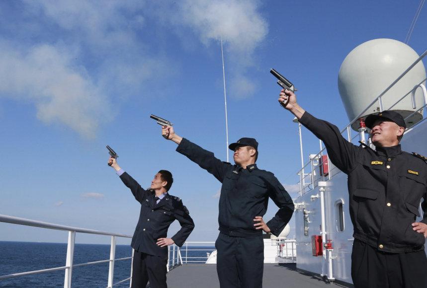 Kinija nežada nusileisti ginčuose dėl teritorijų.