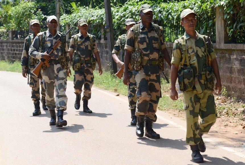 Indijos saugumo pajėgos