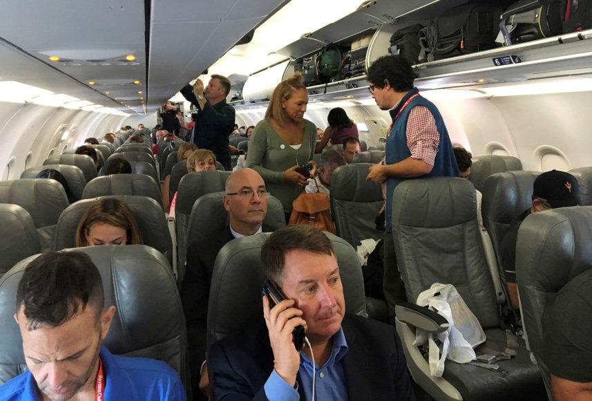 Pirmasis per pusę amžiaus skrydis iš JAV į Kubą