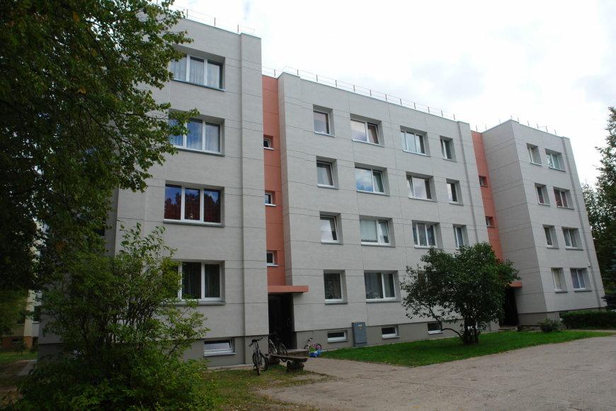 Bendrovės nuotr./Renovuotas daugiabutis Kauno rajone