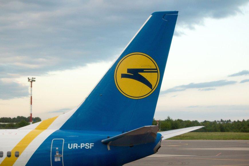 "Bendrovės ""Ukraine International Airlines"" lėktuvas"